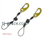 Coil & Webbing leash