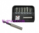 FL-7PCS BITS SET